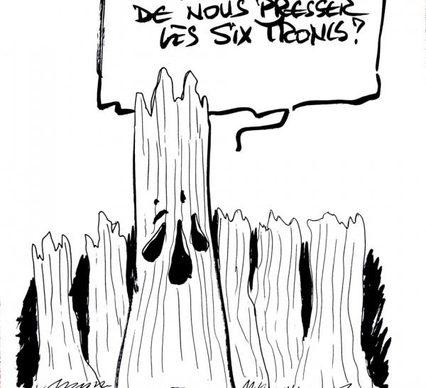 Cabus, Wolonski et une centaines de caricaturistes dessinent pour Véronique Daly
